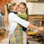 gatitul cu copii